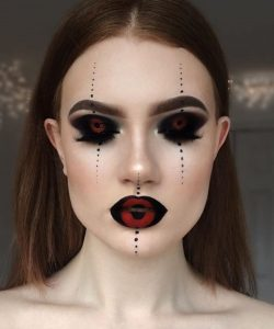 Lydia-Mua-Hallloween-Makeup