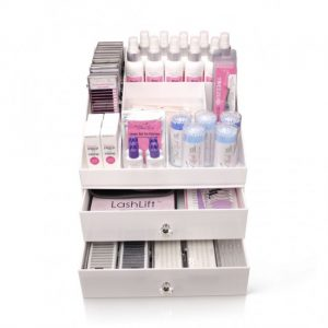 Lash and brow organizer for your salon