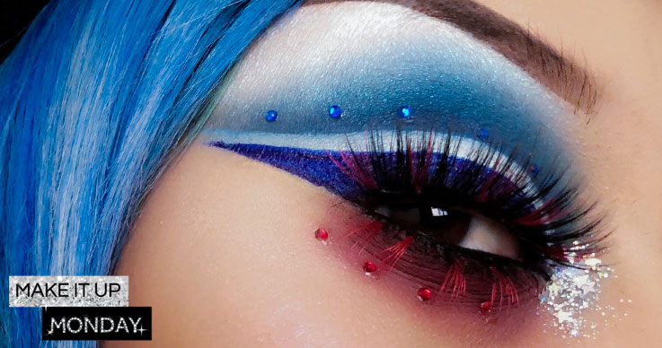 Red-White-and-Blue-Makeup