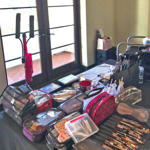 Makeup-Setup