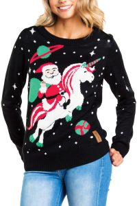 Womens-unicorn-christmas-sweater