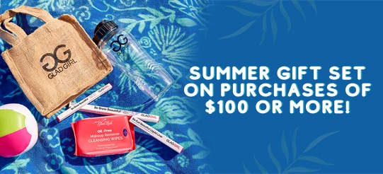 GladGirl Summer Offer - Spend $100 and receive a Free Summer Gift Set
