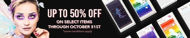 Eyelash Extensions Sale - Halloween 2021